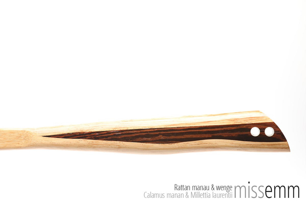 Unique bdsm spanking toys   Pane (flat cane)   By Sydney kink artisan Miss Emm   Made from rattan with a wenge handle and aluminium details, this unique impact toy is the perfect dungeon accessory for the sensual sadist, hard core disciplinarian, Mistress, Master, or anyone who just loves their discipline play.