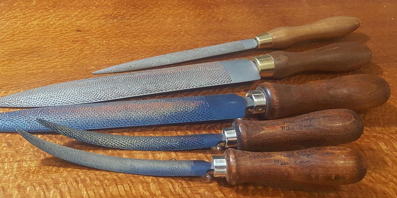 My new MissEmm French rasps