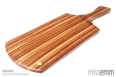 BDSM Toys | Zebrawood spanking bdsm paddle | by Australian fetish artisan Miss Emm