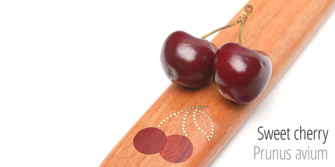 A sweet cherry themed paddle