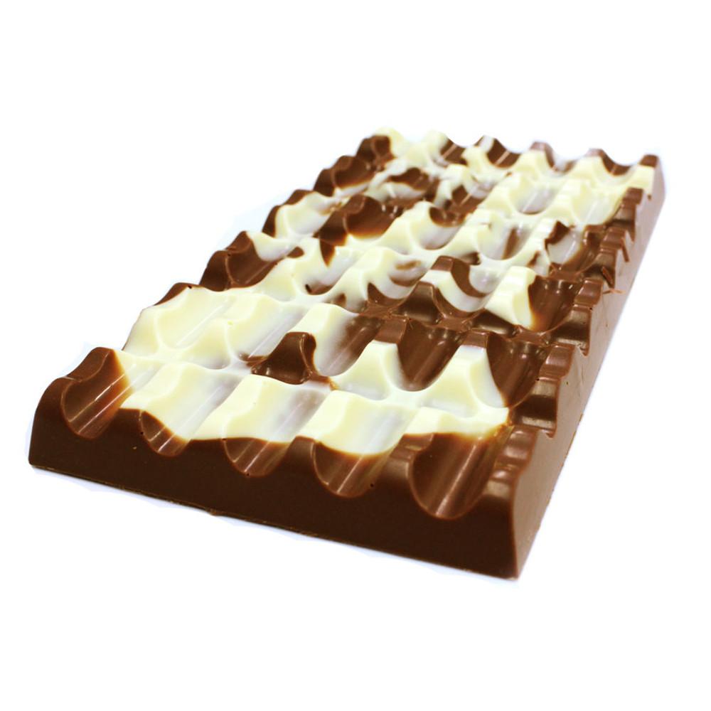 The Marble Slab ( Milk & White Chocolate)