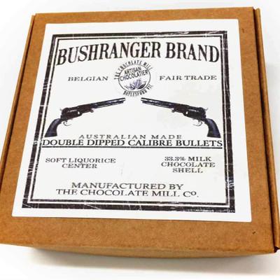 Bushranger Brand milk liquorice bullets