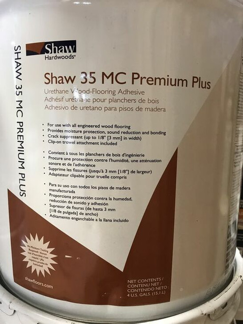 Shaw HS105 4N1 Moisture Control Hardwood Adhesive