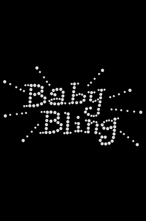 """Baby Bling rhinestone dog tutu for large and small dogs. 4"""" X 3"""" design with clear rhinestones."""
