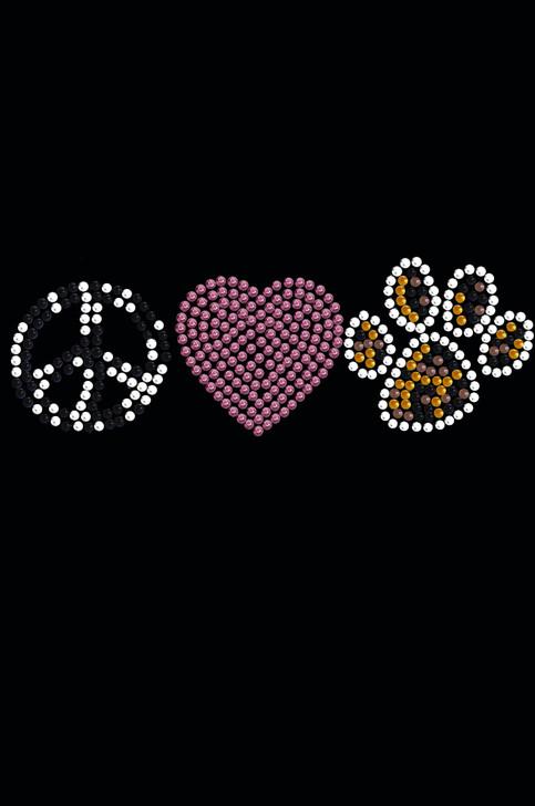 Peace, Love, Paw ( Animal Print) Tutu