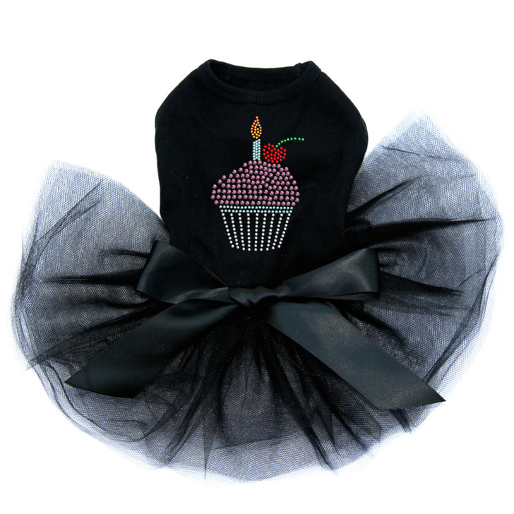 1f83412f857d Cupcake with Candle dog tutu for large and small dogs.