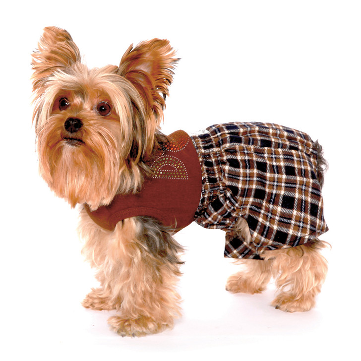 Designed to protect furntiture and walls from territorial marking.  Belly Boxers are a more fashionable choice for dogs used to wearing old fashion belly bands.  Shorts are designed with a pouch for inserting a feminine pad.