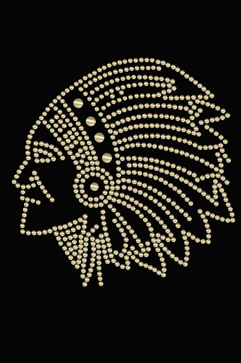 Indian (Gold Nailheads) - Women's T-shirt