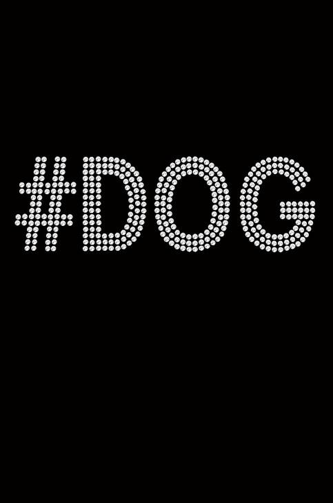 #DOG rhinestone bandanna