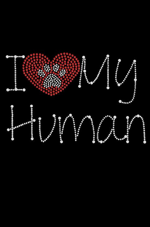 I Love My Human - Dog Tank