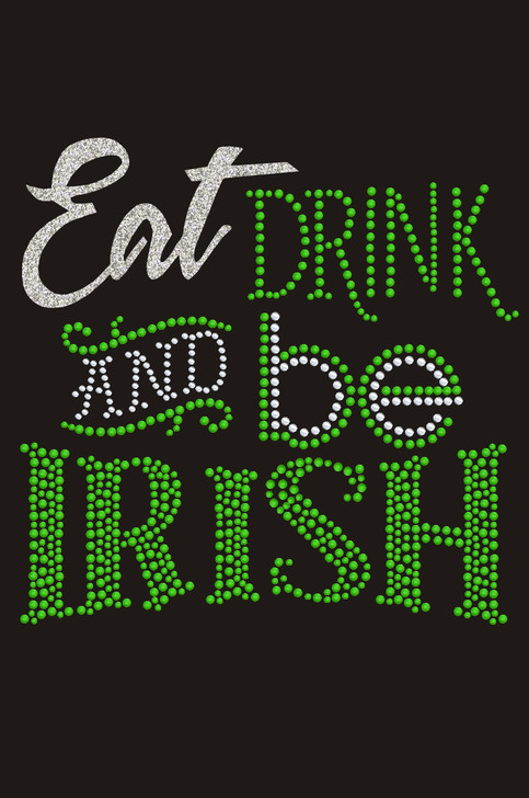Eat, Drink & Be Irish - Dog Tank