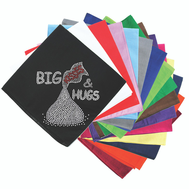 Big Kisses & Hugs - Bandanna