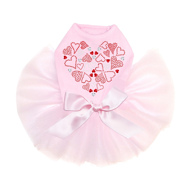 Red Heart with Hearts - Tutu