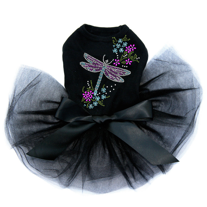 Dragonfly with Flowers - Tutu