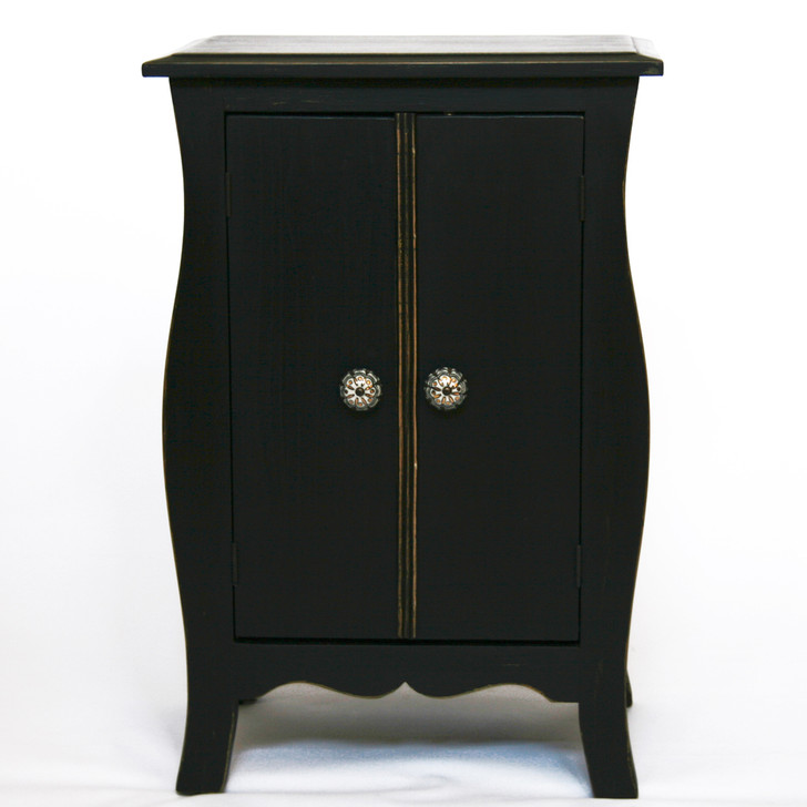 Black French Dog Armoire