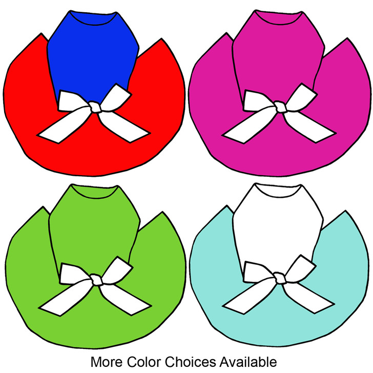 Custom tutus available in choice of colors for top and skirt.  Please message us if you would like to add a rhinestone design and you will be billed separately.  Please use our rhinestone dog tees to see what each design looks like on the different colors of tutu tops.  If you need a custom length for a dog that doesn't fit our regular sizes please let us know.  Custom tutus will require additional time to ship.  No Returns or Exchanges since these are all custom made.