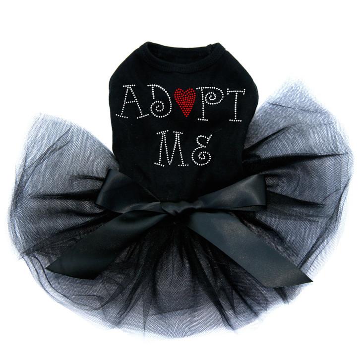 Adopt Me with Heart Black tutu