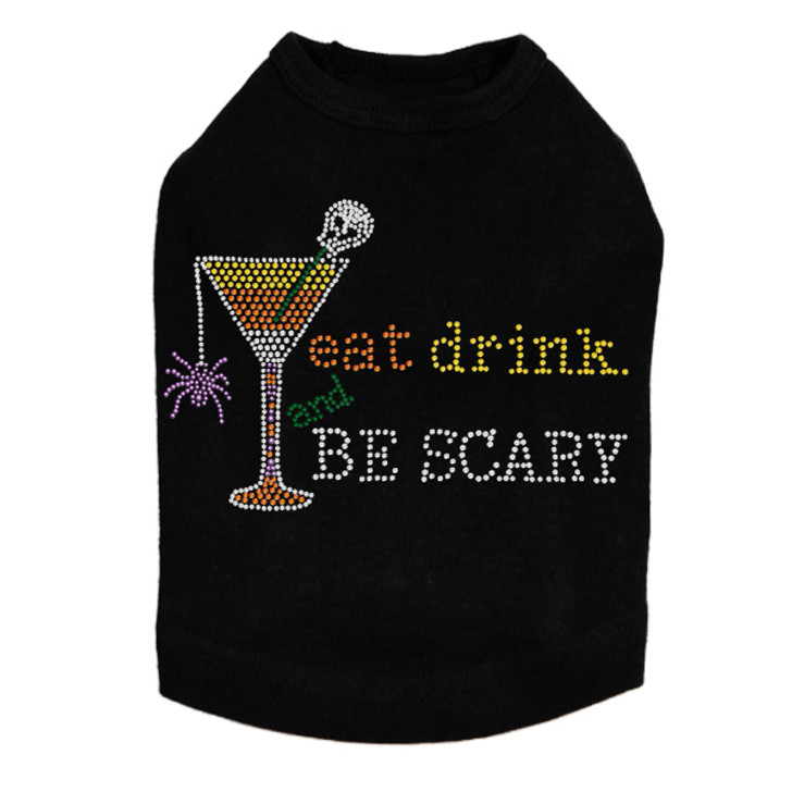 Eat, Drink & be Scary- Dog Tank