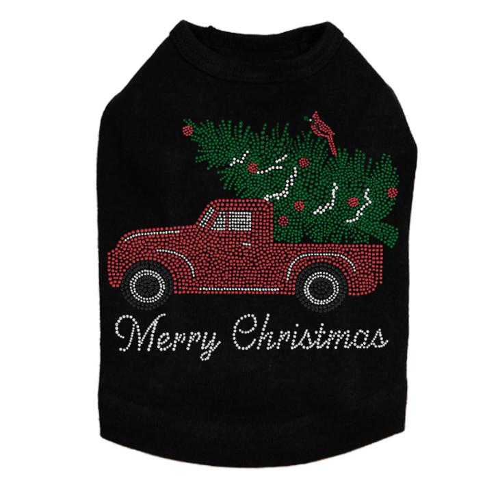Christmas Truck - Dog Tank