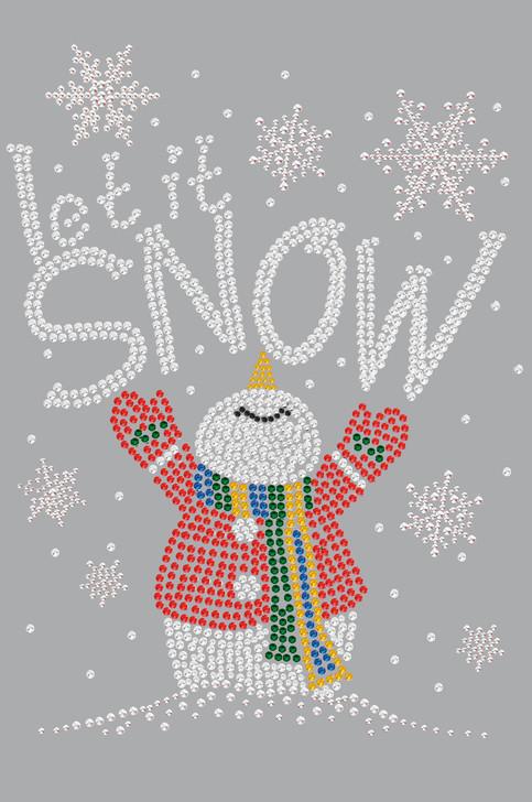 Let it Snow Snowman - Women's Tee