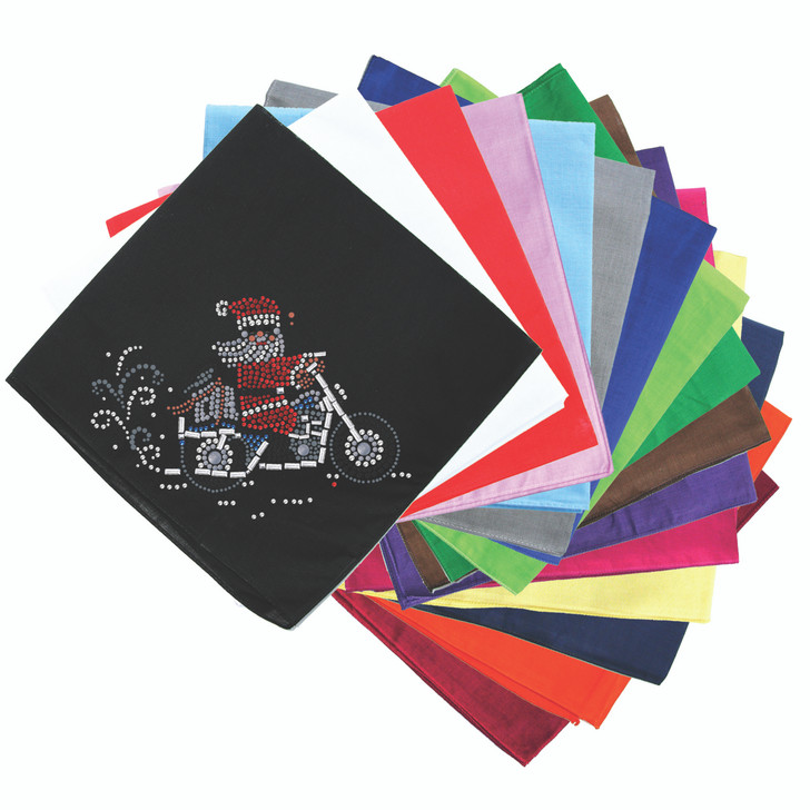 Santa on Motorcycle - Bandanna