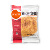 WOW Baking Co. 2.75 oz. Individually Wrapped Gluten Free Snickerdoodle Cookies (Case of 12)