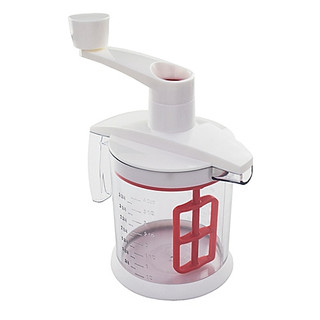 Tovolo Quick Mix Batter Blender in Candy Apple Red