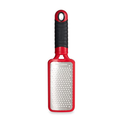 Microplane Home Series Coarse Paddle Grater in Red
