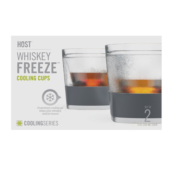 HOST® FREEZE™ Whiskey Cooling Cups (Set of 2)
