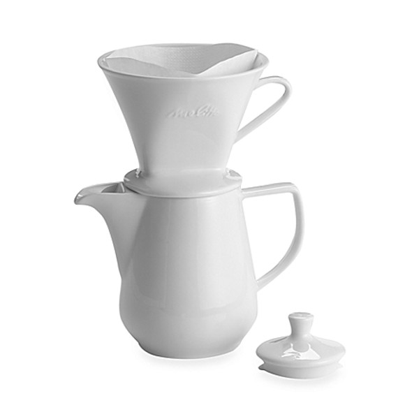 Melitta® Pour Over 6-Cup Porcelain Coffee Maker
