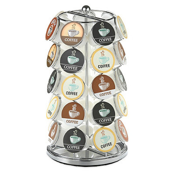 Nifty Home Products K-Cup Carousel 35-Cup Capacity in Chrome