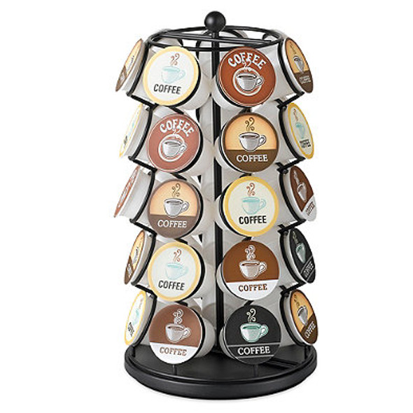Nifty Home Products K-Cup Carousel 35-Cup Capacity in Black