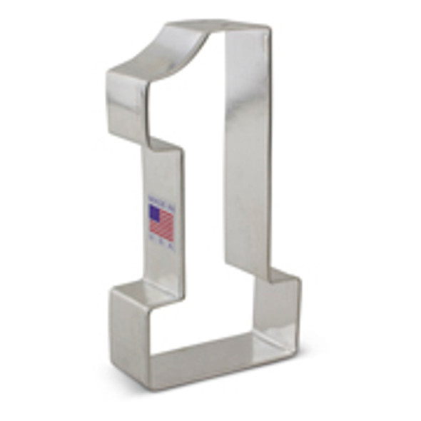 Ann Clark Large Number 1 Cookie Cutter