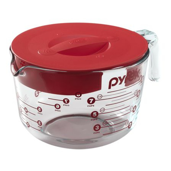 Pyrex® 8-Cup Measuring Cup with Lid