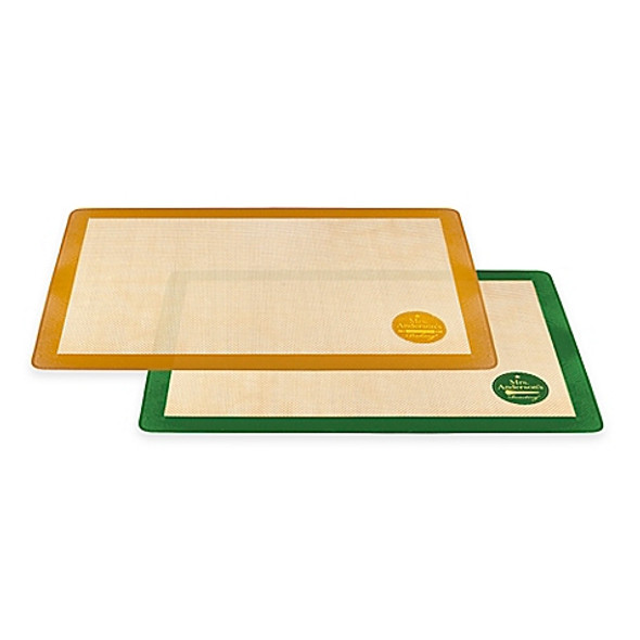 Mrs. Anderson's Baking® Nonstick Silicon Sweet and Savory Baking Mats (Set of 2)