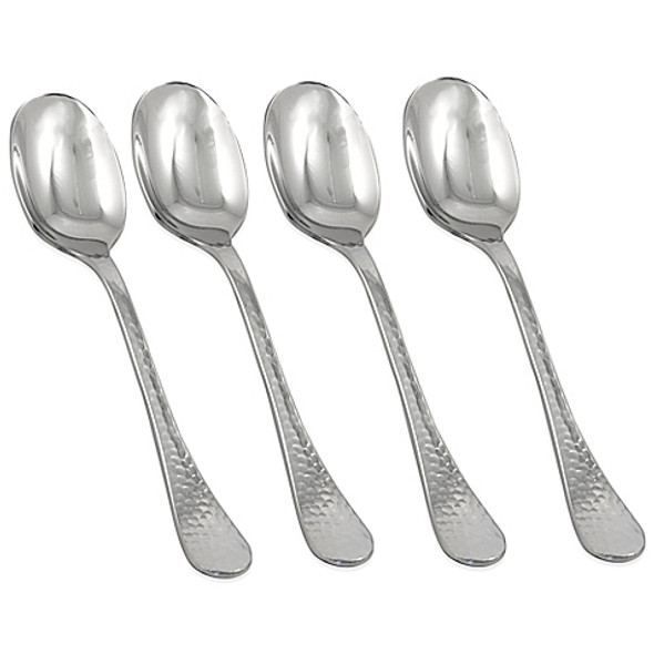 Ginkgo Lafayette Stainless Steel Dinner Spoon (Set of 4)