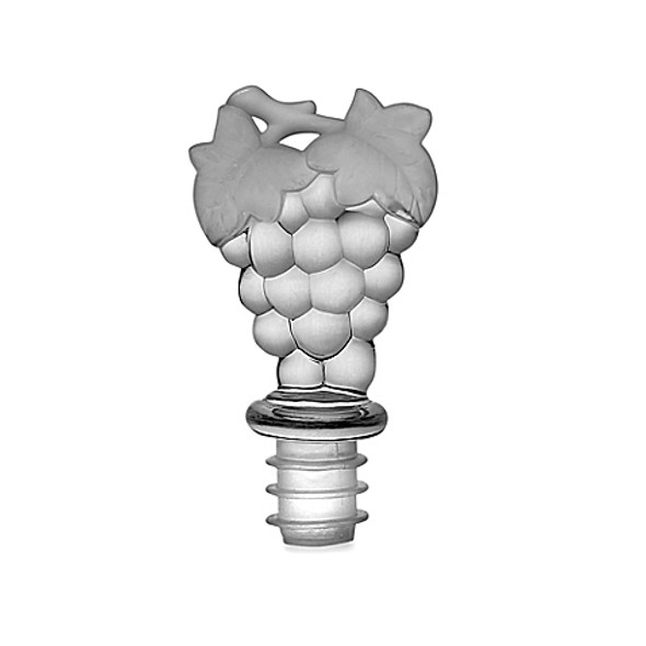 Prodyne Clear Acrylic Grapes Wine Topper