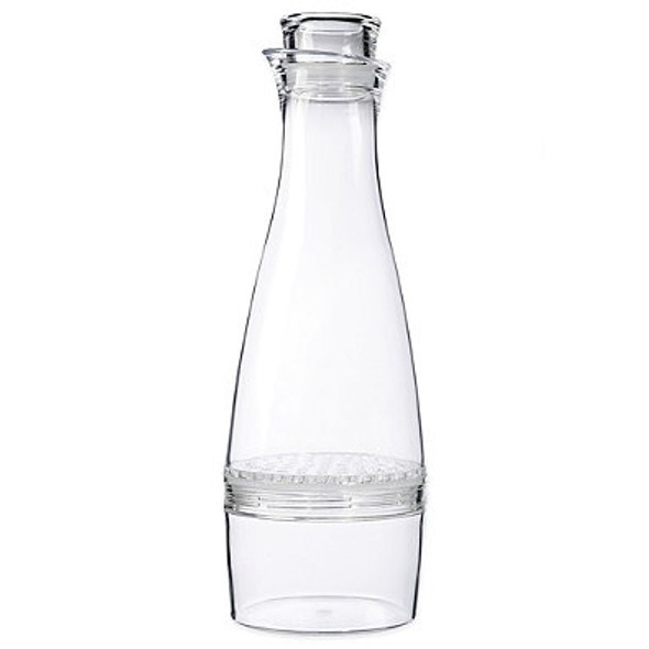 Prodyne 50 oz. Fruit Infusion Flavor Carafe in White