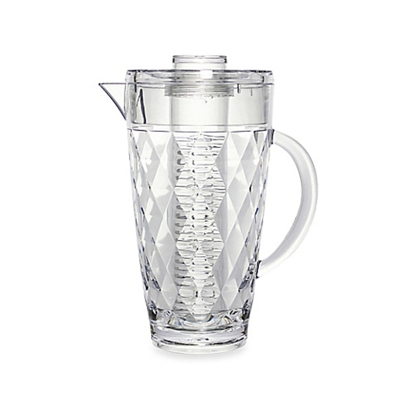 Prodyne Diamond Cut Fruit Infusion Pitcher with Removable Infusion Rod