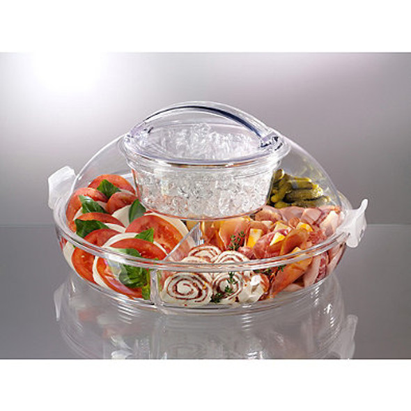 Prodyne ICED UP Appetizers To Go™ Carry and Serve Tray