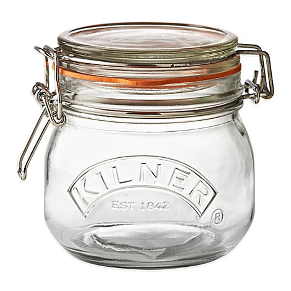 Kilner® 17 oz. Round Clip Top Canning Jar