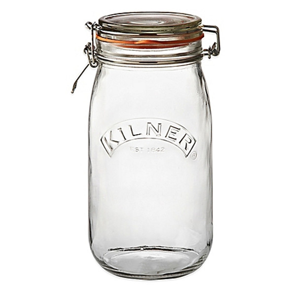 Kilner® 51 oz. Round Clip Top Canning Jar