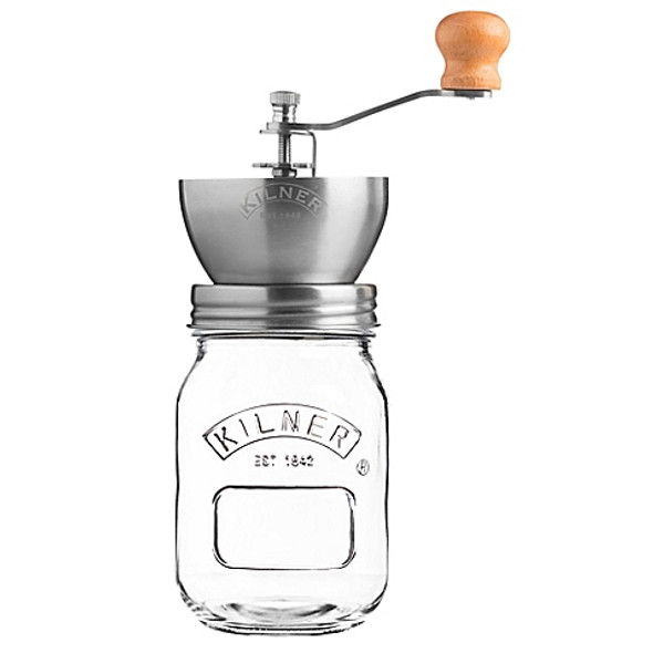 Kilner® Glass Coffee Mill Grinder