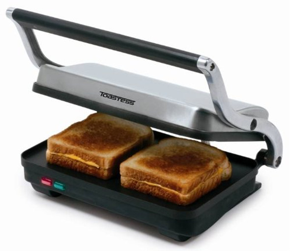 Toastess Stainless Steel Sandwich Grill