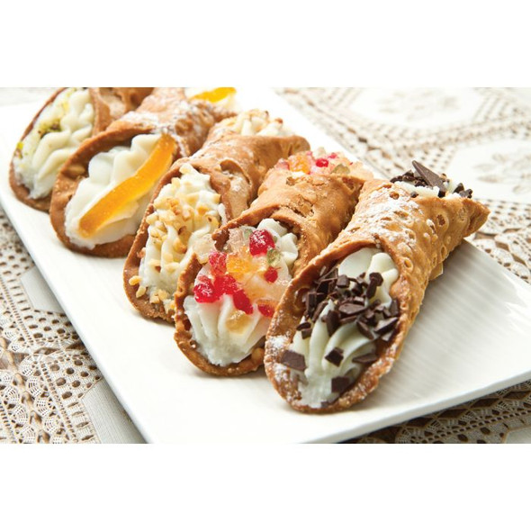 Fante's Cousin Donatella's Stainless Steel Mini Cannoli Forms (Set of 4)