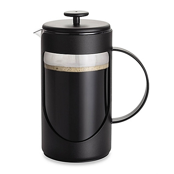 BonJour® Ami-Matin™ 8-Cup Unbreakable French Press in Black