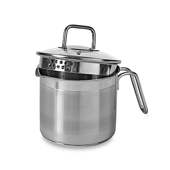 Norpro® 8-Cup Stainless Steel Multi-Pot with Straining Lid