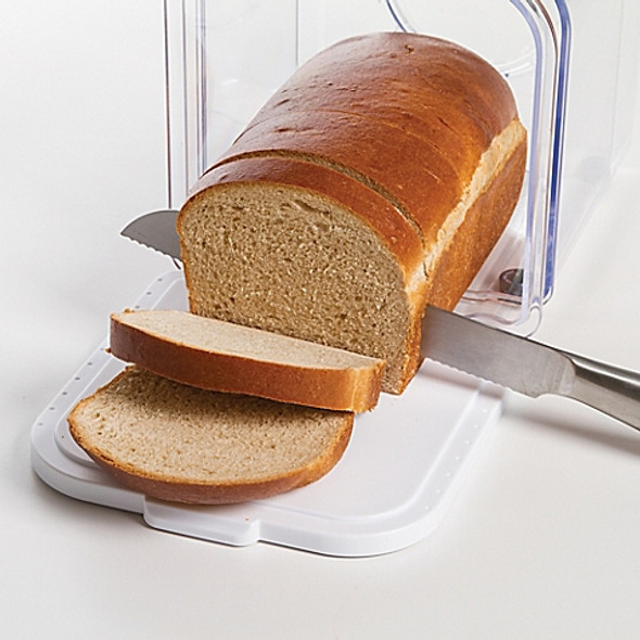 Progressive™ Bread Prokeeper in White/Grey