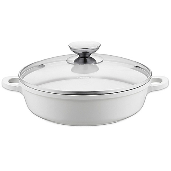 Berndes® Vario Click Pearl 13-Inch Ceramic Induction Casserole Dish with Lid