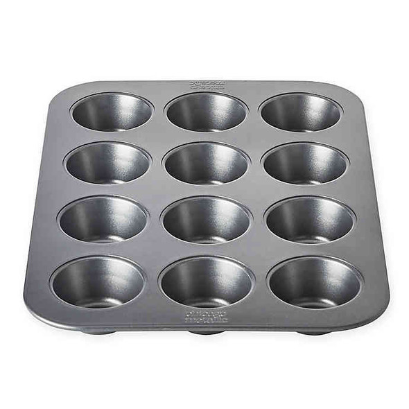 Chicago Metallic™ Professional 12-Cup Muffin Pan with Armor-Glide Coating